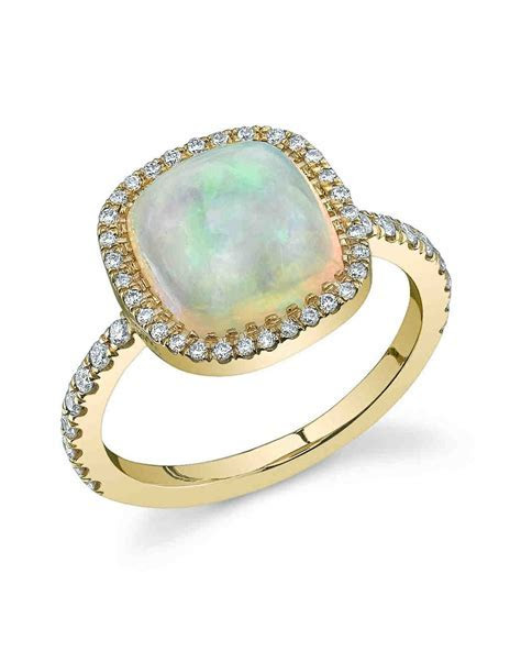 70 Colored Engagement Rings We Love   Martha Stewart Weddings