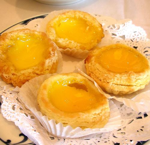 empress pavilion custard tarts