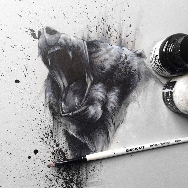Animal painting by solwhiteside