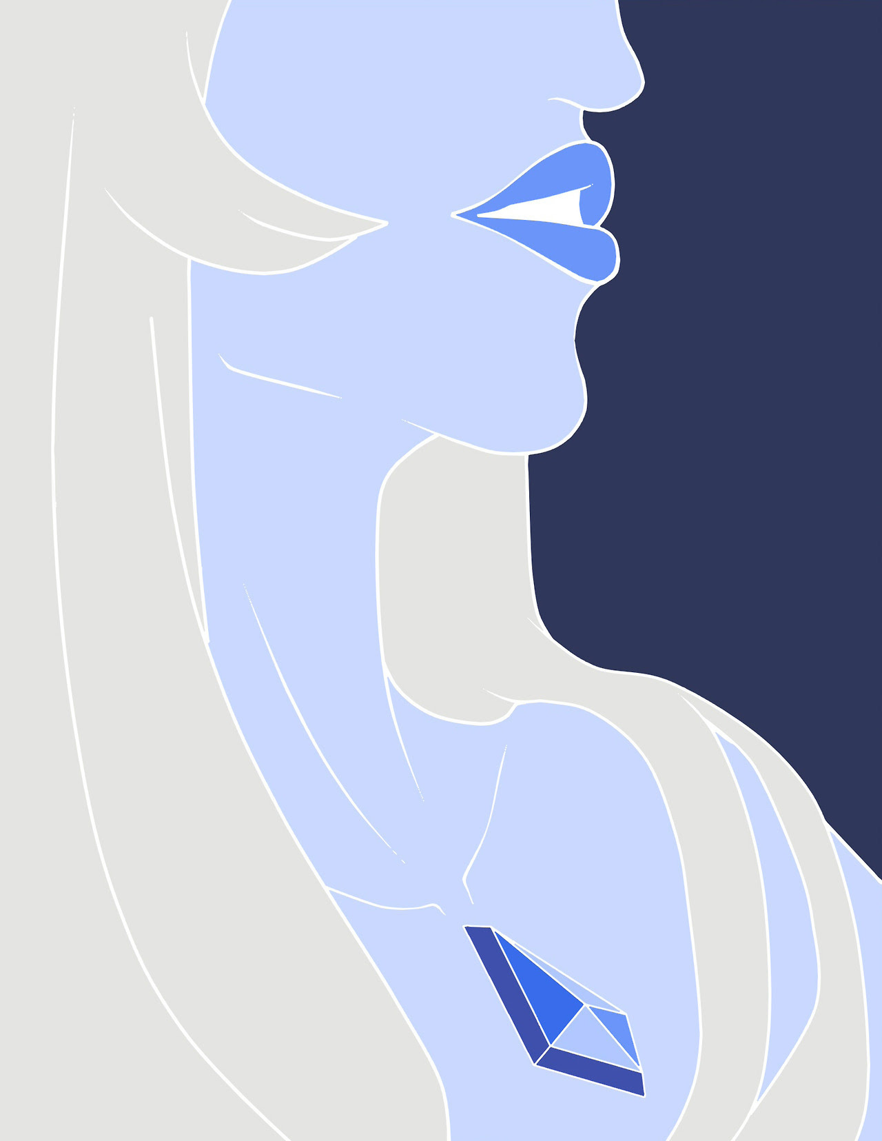 Another Blue Diamond! I like how this one turns out. I actually start this around June but only have the will to finish it recently 😂😂