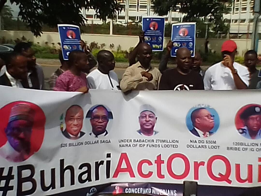 Charlyboy group resumes anti-Buhari protest