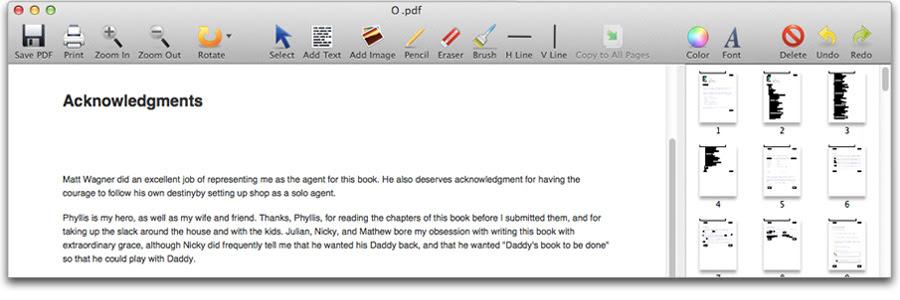 PDF Editor Mac Pro