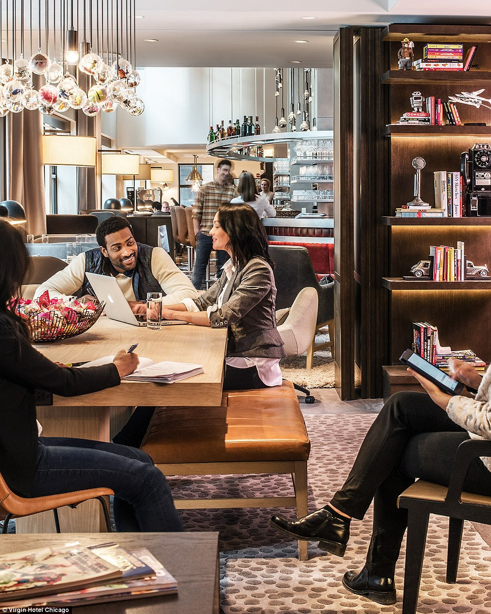 A 2011 report from the Center for Hospitality Research at Cornell University stated that while females accounted for only a quarter of business travelers in 1991, they now comprise about half, an opportunity Virgin Hotels is keen to reflect in its rooms