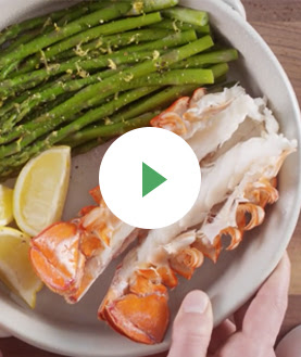 How to Serve Lobster Tail