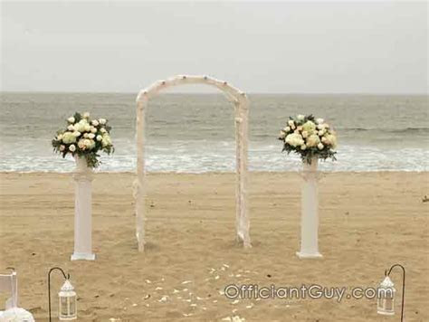 Tips for California Beach Weddings