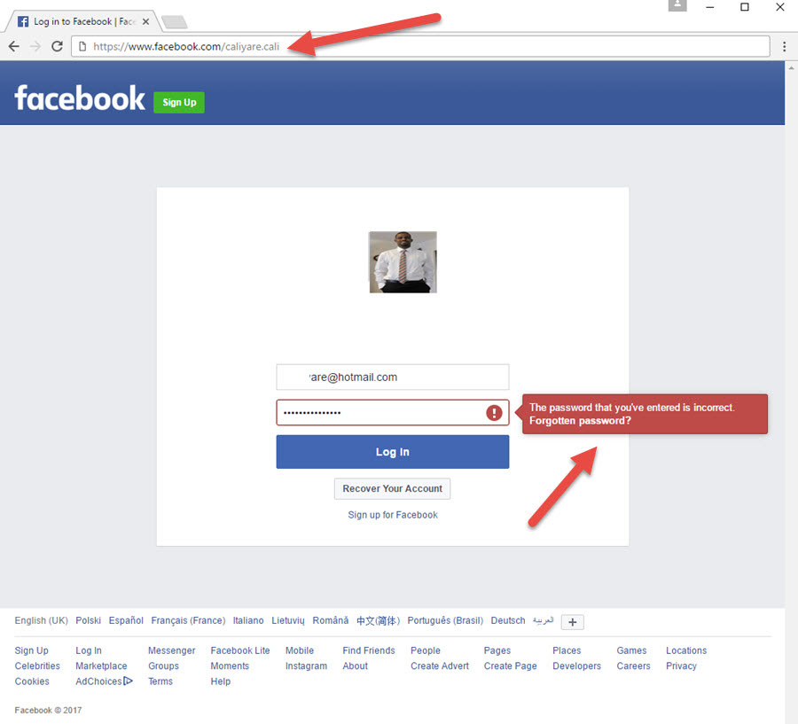 Sign up facebook hotmail hotmail