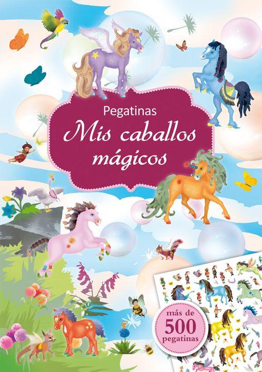 PEGATINAS - MIS CABALLOS MAGICOS.indd