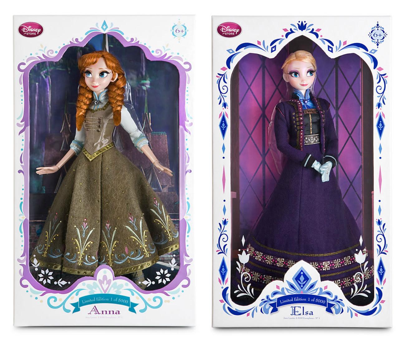 "17"" Limited Edition Anna And Elsa Anak Patung Elsa Dan"