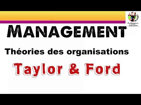 Les théories classiques de l'organisation 1/2 : Taylor et Ford.