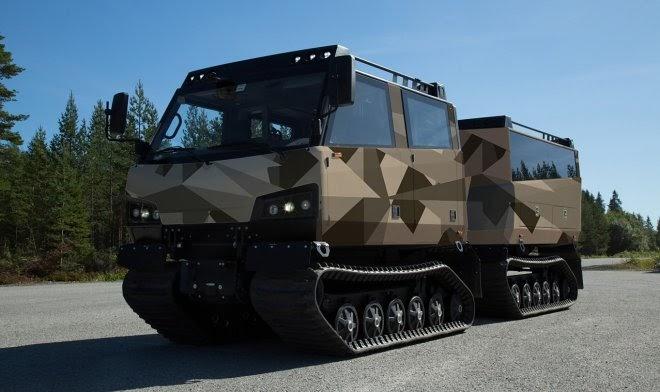 Армия США приступает к испытаниям арктического вездехода-амфибии Beowulf