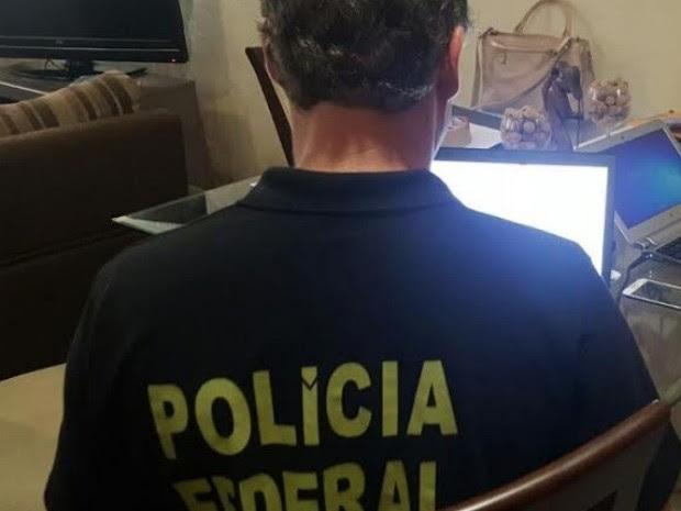 Polícia realiza operação contra compartilhamento de pornografia infantil (Foto: PF/Divulgação)