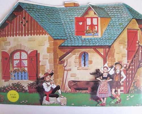 as minhas casinhas e os seus habitantes