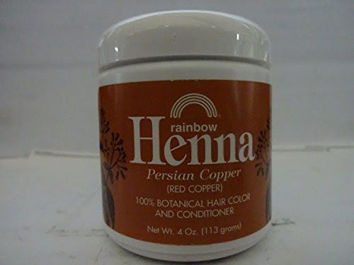 Rainbow Research Henna Hair Color and Conditioner Persian Copper Red Copper  4 oz Home Garden