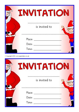 Invitation Writing Frames and Printable Page Borders KS1 & KS2 ...