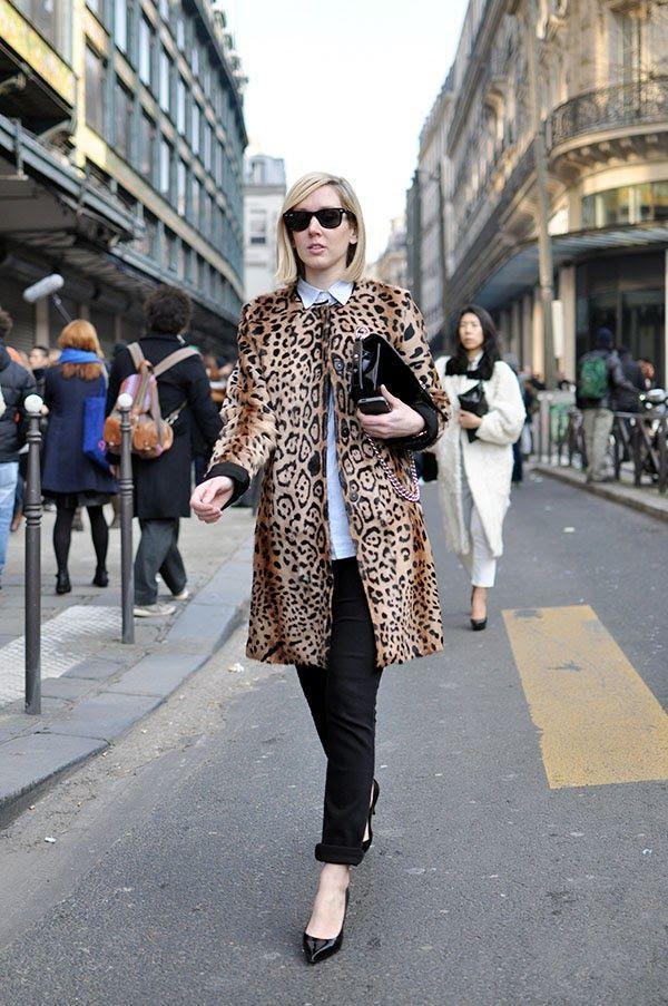 leopard coat ♥♥♥