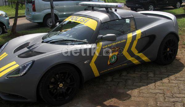 Mobil Polisi Indonesia Keren