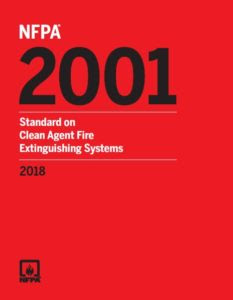 NFPA 2001,NFPA2001,Clean Agent,Fire Extinguishing Systems