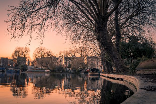 Little Venice in Regent's Canal
