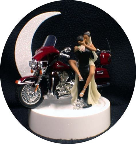 Hispanic, African American w/Harley Davidson Motorcycle