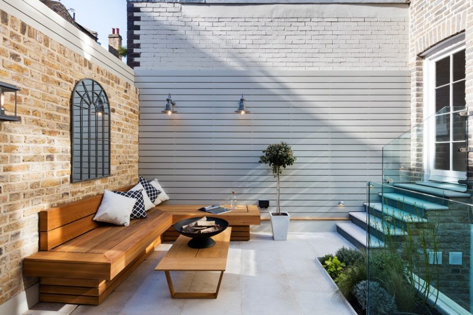 10 Contemporary Patio Designs Award Winning Contemporary Concrete Planters And Sculpture By Adam Christopher