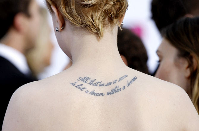 Got A Tattoo Great Heres What It Says About You Rediff Getahead
