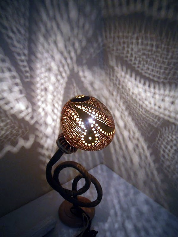 Amazing Art Inspired Gourd Lamps (28)