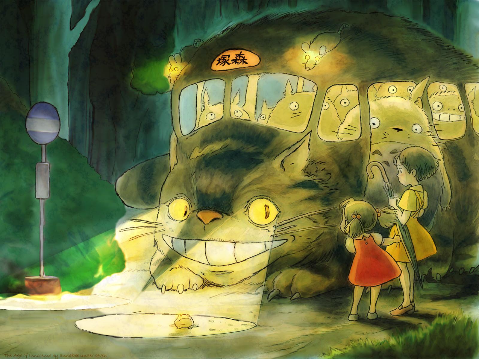 My Neighbor Totoro Wallpaper The Age Of Innocence Minitokyo