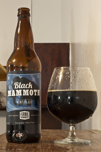 Review: Fernie Brewing Black Mammoth by Cody La Bière