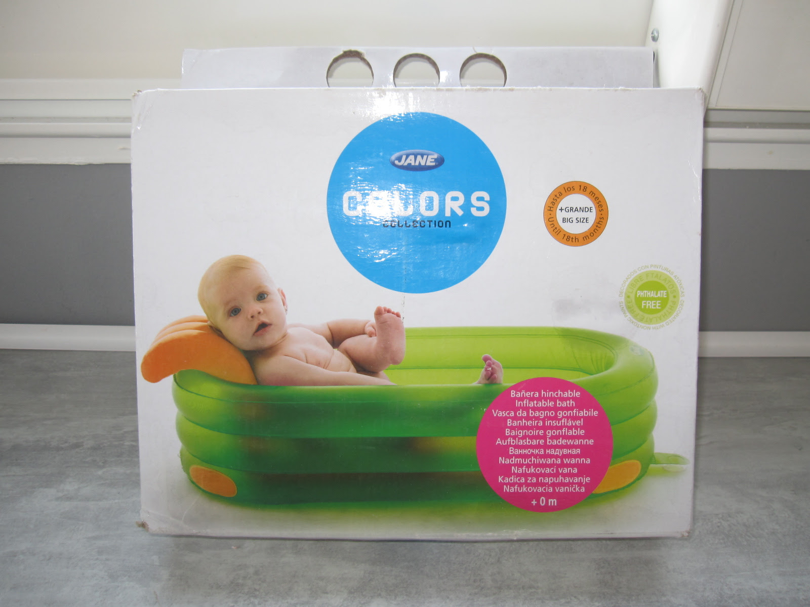 Baignoire Gonflable Bebe Jane Multipositions Aukazoo