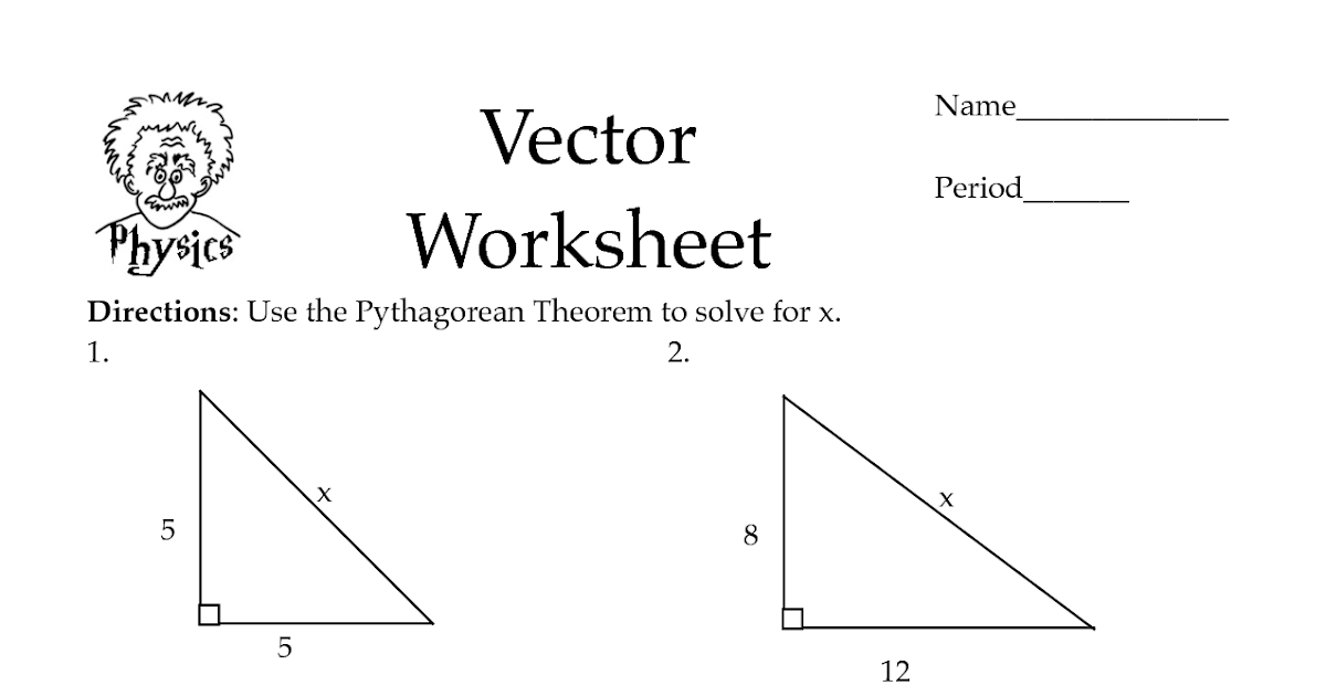 Geometry Pythagorean Theorem Worksheet