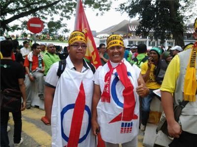 Image result for Melayu sokong dap