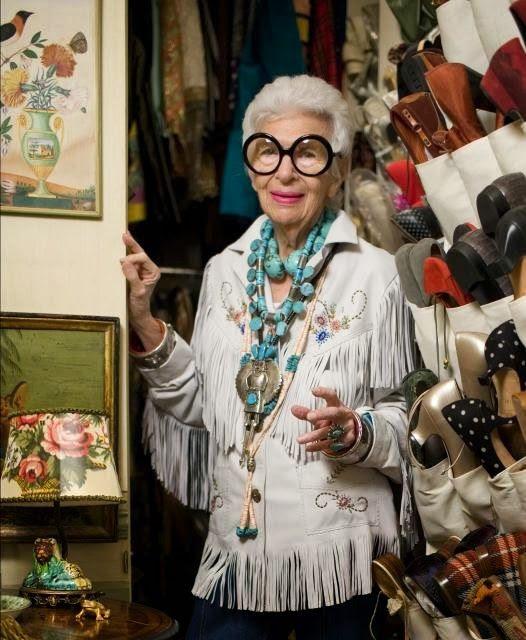 יופקה - בלוג אופנה | Yupka - Fashion blog: Iris Apfel מי את?