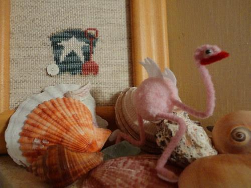 tiny flamingo