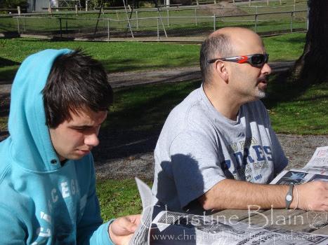 Jack & Andrew - picnic