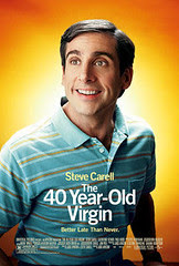 40 Yr Old Virgin Poster
