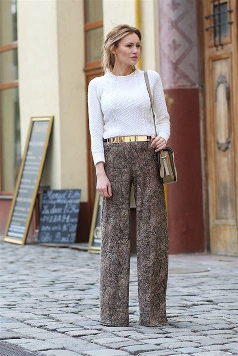 modern ways  wear palazzo pants   outfits