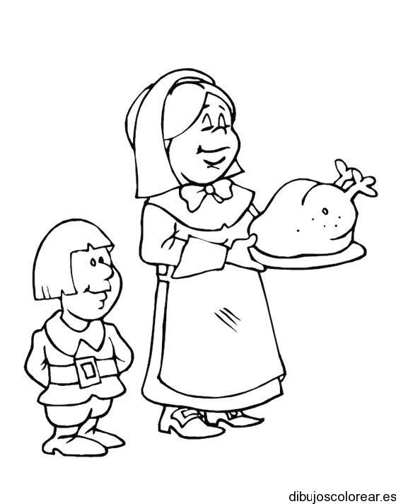 Dibujo De Un Nino Comiendo Para Colorear Imagesacolorierwebsite