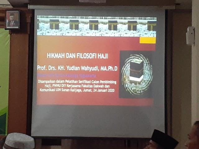 Hikmah Filosofi Haji oleh Rektor UIN Sunan Kalijaga
