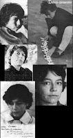 Collage fotos Alejandra Pizarnik - Silvia Camerotto