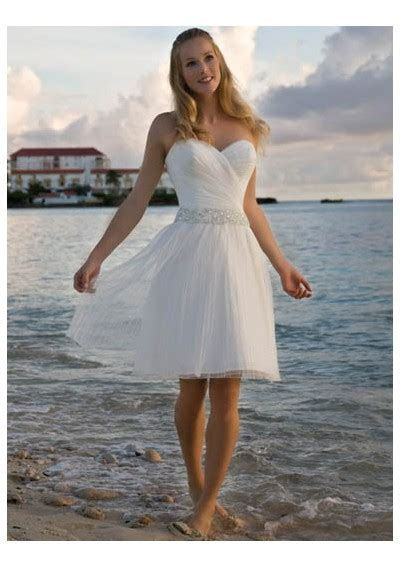 Short Beach Wedding Dresses   A Trusted Wedding Source by