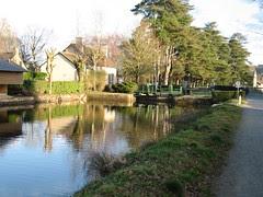 Canal Lock near Malestroit
