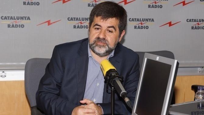 Jordi Sànchez als estudis de Catalunya Ràdio