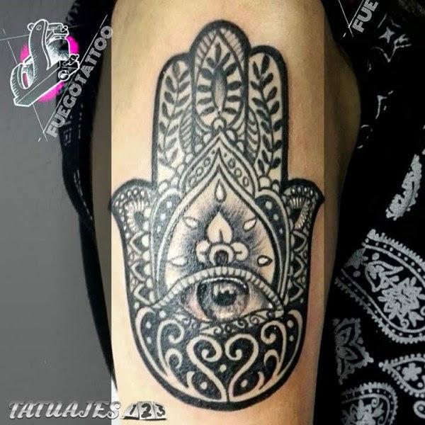 Mano Fátima Tatuajes 123