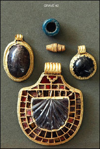 Anglo-Saxon jewellery found near Redcar