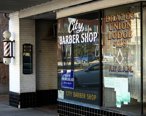 bryan city barber shop and union lodge