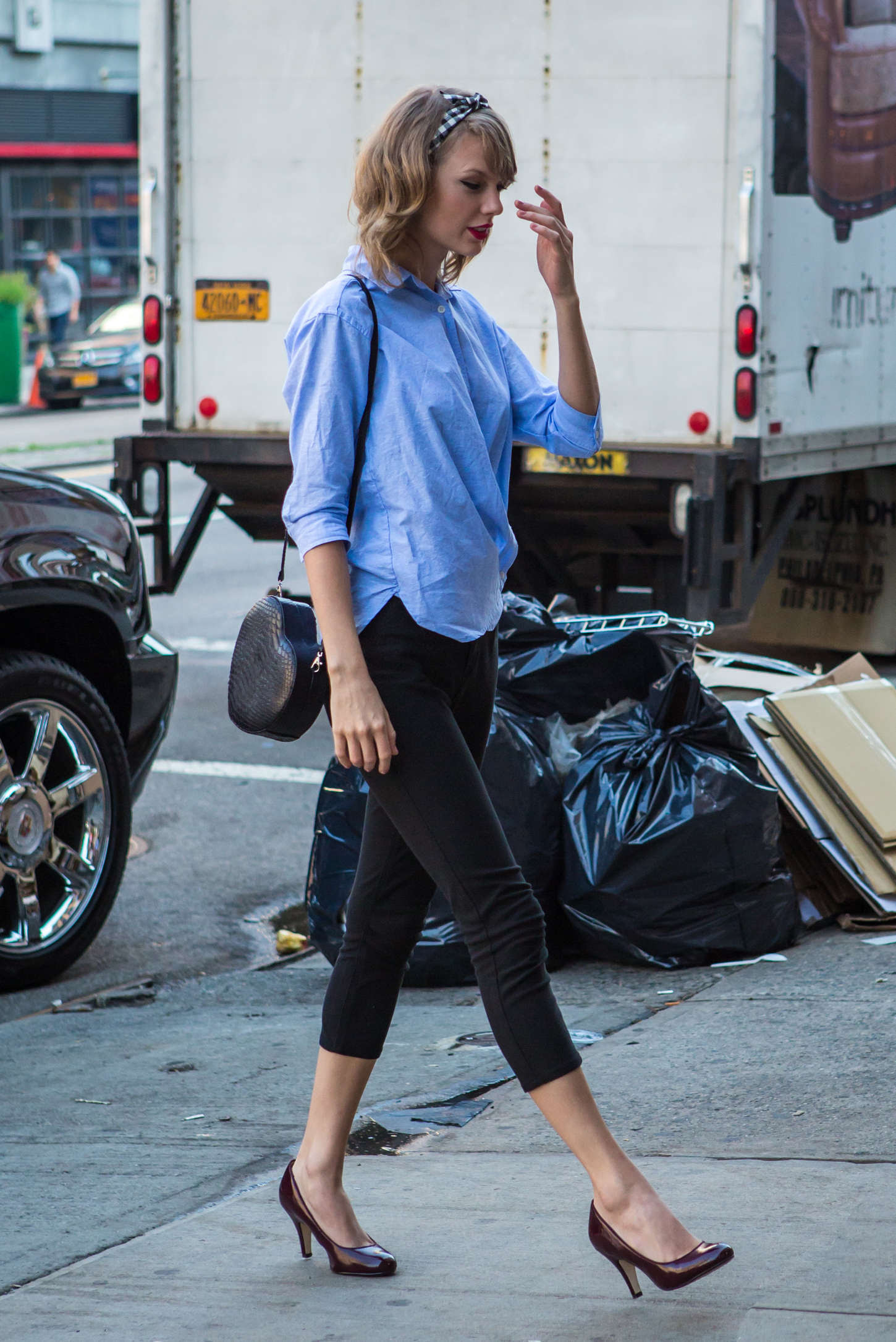 Taylor Swift – out in NYC -03
