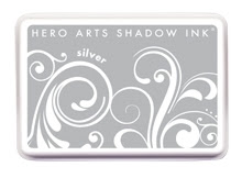 Hero Arts Shadow Ink Pad SILVER af257