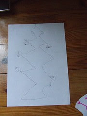 Aine's Christmas Tree Drawing