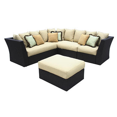 Lane® Luxor Wicker Sectional Outdoor Patio Furniture - Sam's Club