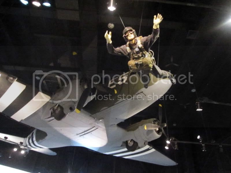 man jumping out of plane airborne museum